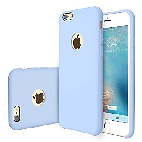 RANVOO [RAINBOW] iPhone 6s /6 Case, Soft Silicone Case, Compatible with Universal Magnetic Car Mount,