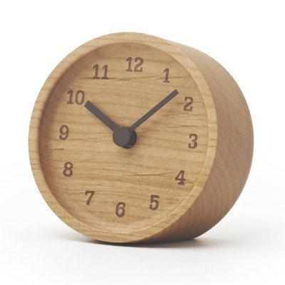 Lemnos lc12-05 ad muku orologio da tavolo in frassino, naturale, 15x 15cm