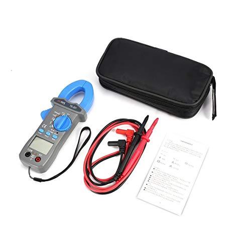 Heaviesk Für HYTAIS TS201 Digitales Zangenmessgerät Auto Range Ranging Multimeter 600A 600V AC/DC-Spannung Spannungsprüfer NCV-Test Voltmeter Test Ac Spannung