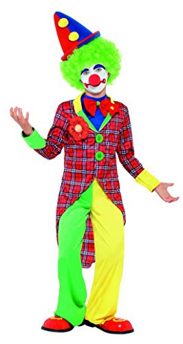 costumebakery - Mädchen Jungen Kinder traditionelles Zirkus Clown -