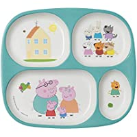 PEPPA PIG 4-Compartment Servig Tray, Pack of 1 preiswert