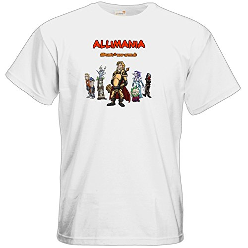 getshirts - Stevinho & Allimania - T-Shirt - Allimania Classic - Ronny White