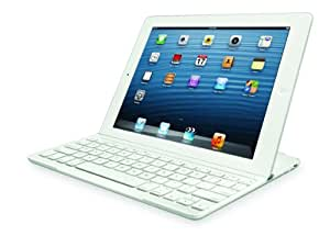 Logitech Ultrathin Keyboard Cover for iPad (NOT Compatible with the iPad AIR) - White