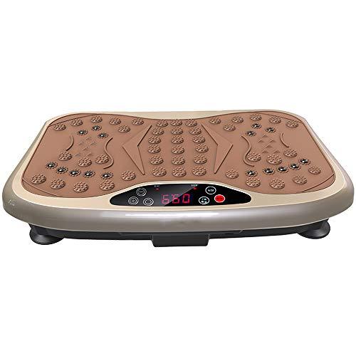 H&Y Vibration Power Plate mit USB & Bluetooth Musik - Player & Magnetfeldtherapie - Slim Massage Fitness oszillierende Vibro Platte Mini - 99 Geschwindigkeit, 5 Übungsprogramme