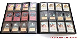 docsmagic.de Pro-Player 12-Pocket Playset Album Black - 480 Card Binder - MTG - PKM - YGO - Schwarz