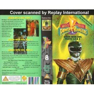 Mighty Morph N Power Rangers 8 Green With Evil Parts 1