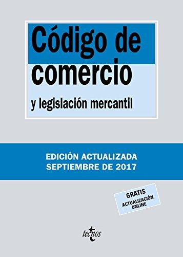 Código de Comercio: y legislación mercantil (Derecho - Biblioteca De Textos Legales) por Editorial Tecnos