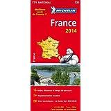 Carte France 2014 Michelin - Meilleure vente