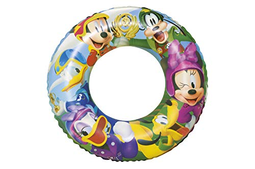 Bestway Disney\'s Mickey and the Roadster Racers Schwimmring, 56 cm