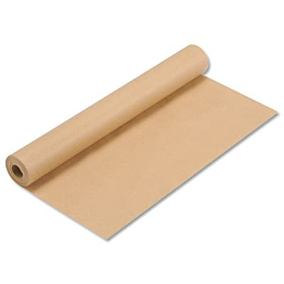 Rolling To No Brand Kraft Wrapping Paper Roll 70gsm Brown