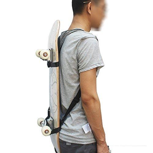 YYST Skateboard-Schulterträger/Skateboard-Rucksack, ohne Skateboard