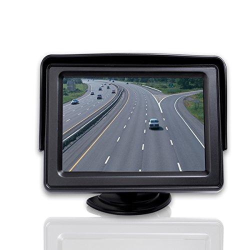 Kungfu Mall 4,3-Zoll-LCD-Digital-Auto-Display Key Functional Egulation