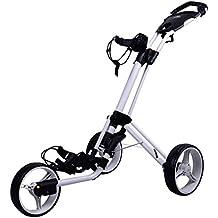 Powakaddy Twinline 4 Golf Push Trolley