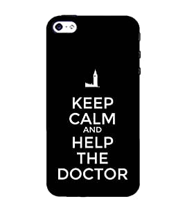 99Sublimation Nice Quote On Keep Carm 3D Hard Polycarbonate Back Case Cover for Apple iPhone 4 :: Apple iPhone 4S