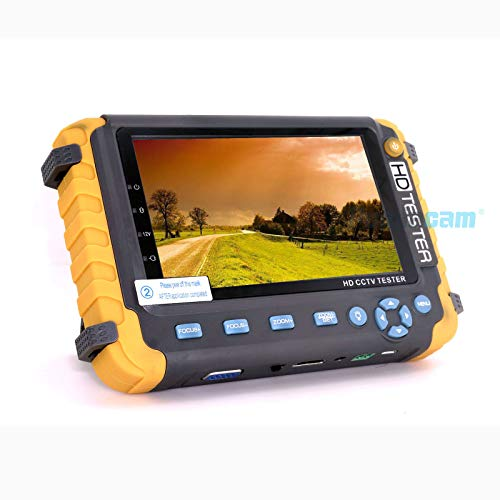 Neue 5 Zoll TFT LCD HD 5MP TVI AHD 4MP CVI CVBS analoge Überwachungskamera Tester Monitor in Einem CCTV Tester VGA HDMI Eingang IV8W -