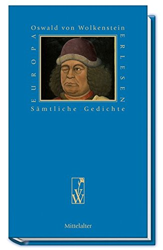 Buchcover Sämtliche Gedichte (Europa Erlesen Mittelalter)