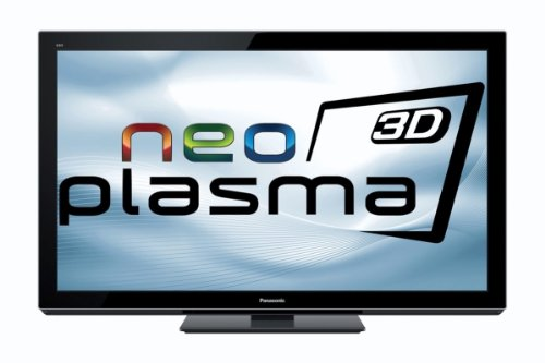 Panasonic Viera TX-P50VT30E 127 cm (50 Zoll) 3D-NeoPlasma-Fernseher (Full-HD, 600Hz sfd, DVB-T/-C/-S, CI+) klavierlack schwarz inkl. 2 3D-Brille Viera Plasma-tv