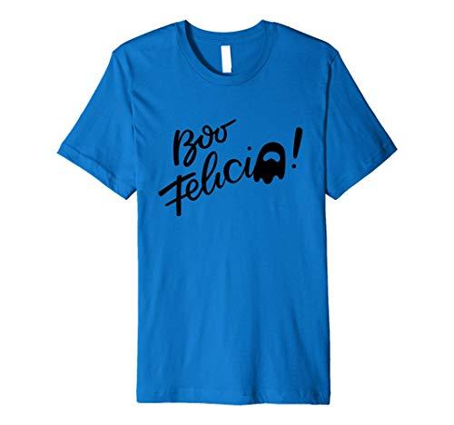 Boo Felicia Shirt   Halloween Wortspiel Shirts