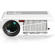 iCodis G7 Max Proyector, 3000 Lumens LED, 30000 horas de vida útil de la lámpara, reproducción Full-HD, resolución nativa HD-Ready.