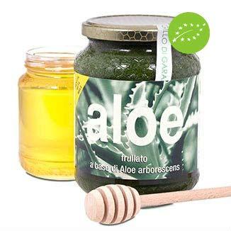 Succo Bio di Aloe arborescens frullato Fresco ricetta Metà Miele