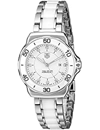 TAG Heuer Women's Analogue Watch with white Dial Analogue