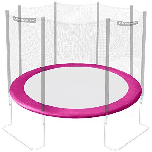 Ultrasport Rivestimento del bordo per trampolino da giardino, Rosa, 251 cm