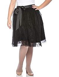 Dancina Women's Tutu Skirt A Line Knee Length