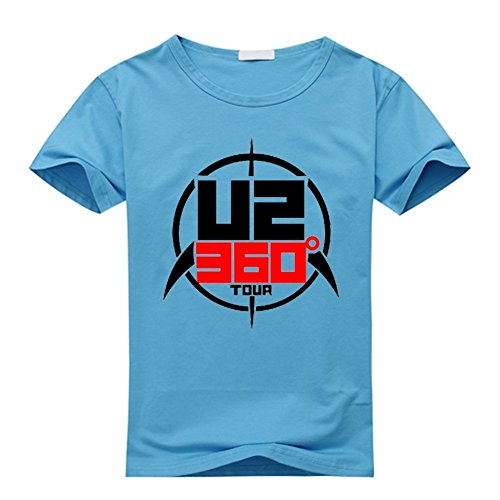 Custom U2 Band 360 Tour Herren's and Damen's T-Shirt XXX-Large (U2 360 Tour)