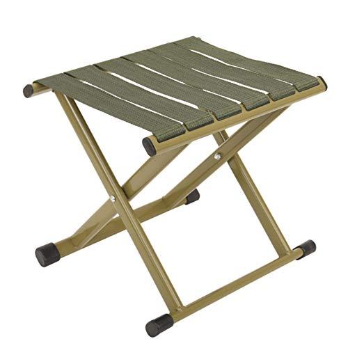 SAPHRANK Tragbare Camping Stühle, 4 Farben Outdoor Lightweight Camp Aluminium Stühle Verschlüsseltes Polypropylen Gurtband Ultraleichter Klappsitz Faltbarer Camping Hocker zum Wandern Angeln