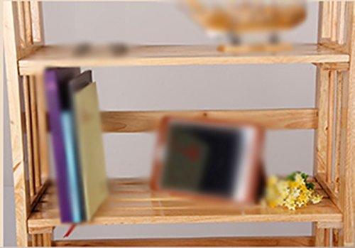Librería Librería 65 (L) * 30 (W) * 100 (H) Cm Roble Moda Ensamblar La Estantería