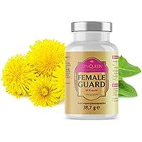 GymQueen Professional Female Guard   DIM Diindolylmethane Kapseln   Entwässerungstabletten mit Löwenzahn-Blattextrakt   300 mg bei empfohlener Tagesdosis (2 Kapseln)   60 Tabletten - 38,7 g