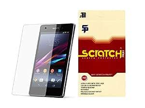 Scratch Pruff Matte Screen Guard Of Sony Tipo
