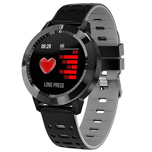 Fitness tracker Impermeabile Smart Watch Cf58, Pressione Sanguigna E Monitoraggio della Frequenza Cardiaca/Contapassi, per Android E iOS - Tre Colori Opzionali