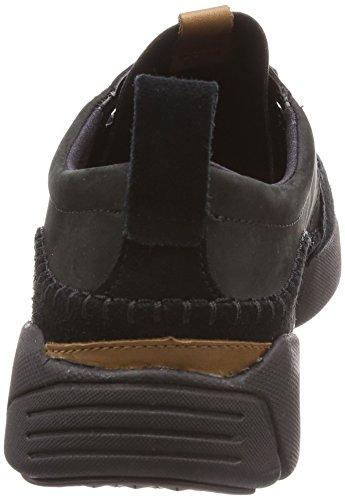 Clarks Triactive Run, Sneakers Basses Homme Noir (Black Nubuck)