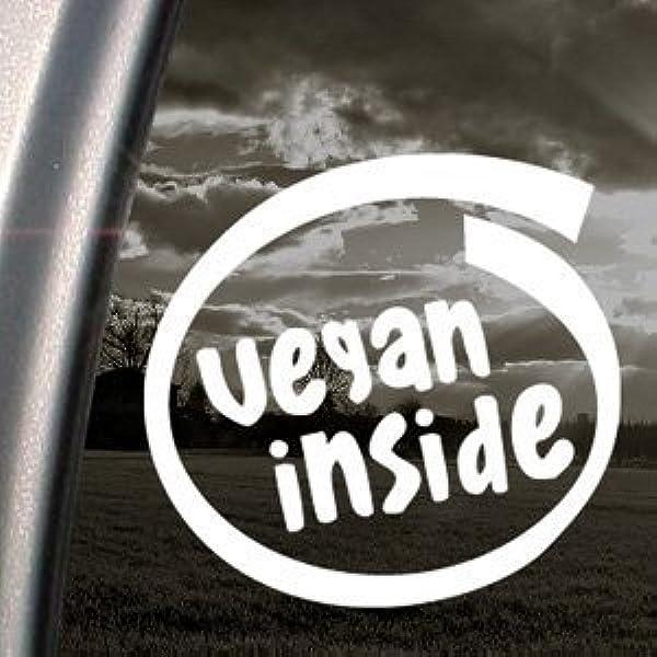 Vegan In Aufkleber Auto Truck Bumper Window Sticker Von Ritrama Auto