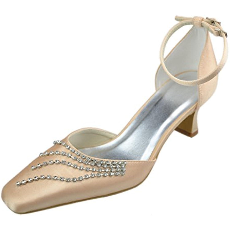 MINITOO , Escarpins pour Femme - Champagne-5cm Marron - Champagne-5cm - Heel, - B074RZXN2R - 73b76a