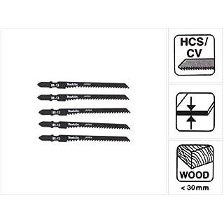 Makita A-85793 Stichsägeblatt BR13 HCS für Holz & spez. Küchenarbeitsplatten -5-er Pack