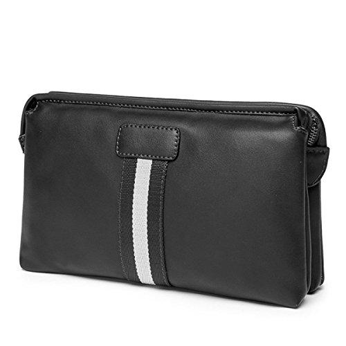 Herrenhandtasche Männer Handtasche Mit Großer Kapazität Handtasche black