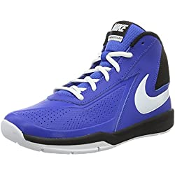 Nike Team Hustle D 7 (GS), Zapatillas de Baloncesto para Hombre, Azul (Game Royal / White-Black), 38 EU