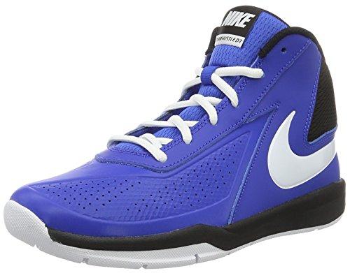 Nike Herren Team Hustle D 7 (GS) Basketball Turnschuhe, Azul (Game Royal / White-Black), 40 EU