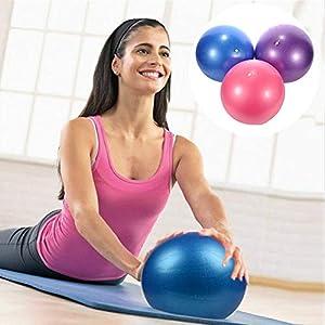iBaste-sports Gymnastikball – Professional Grade Anti-Burst Yoga Pilates Fitness, Balance Ball für Zuhause, Balance, Gym, Core Strength, Yoga, Fitness, Schreibtischstühle (25cm)