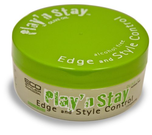 Eco Styler Play 'N Stay Olive Oil Edge And Style Control 3 oz. (Pack of 2)
