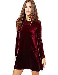 2822a18ab908 Eyekepper Manica del vestito di velluto nuovo A