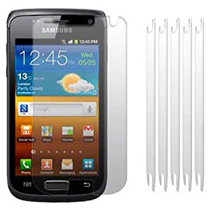 SAMSUNG GALAXY W I8150 SCREEN PROTECTOR / GUARD / FILM / COVER 6-IN-1 PACK