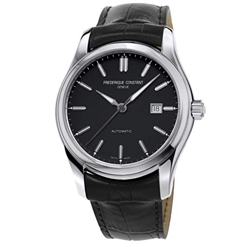 Frederique Constant Men's Classics 40mm Steel Case Automatic Watch FC-303NB6B6