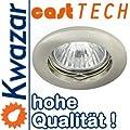 K-13 Halogen / LED Aluminium - Zink Einbaulechte Einbauspot 230V / 12V von Kwazar Leuchte