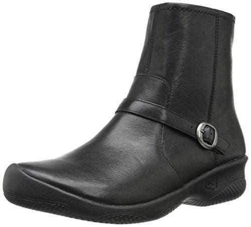Keen Bern Ankle Damen Schuh Ankle Boots Stiefelette Booty Winter Leder Black