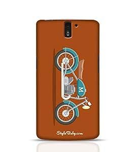 Style baby Cartoon Style Motorbike OnePlus One Phone Case