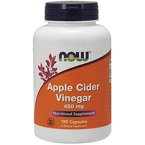 Now Foods, Apfelessig, hohe Potenz, 450 mg, 180 Kapseln