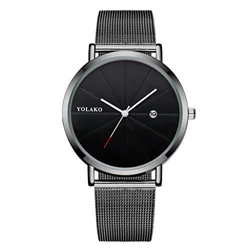 Mymyguoe Reloj de Pulsera Mujer Digital Reloj de Pulsera Hombre Reloj de Cuarzo Reloj Mujer Unisex Reloj de Pulsera Reloj Mujer Moda Reloj analogico Reloj de Dama